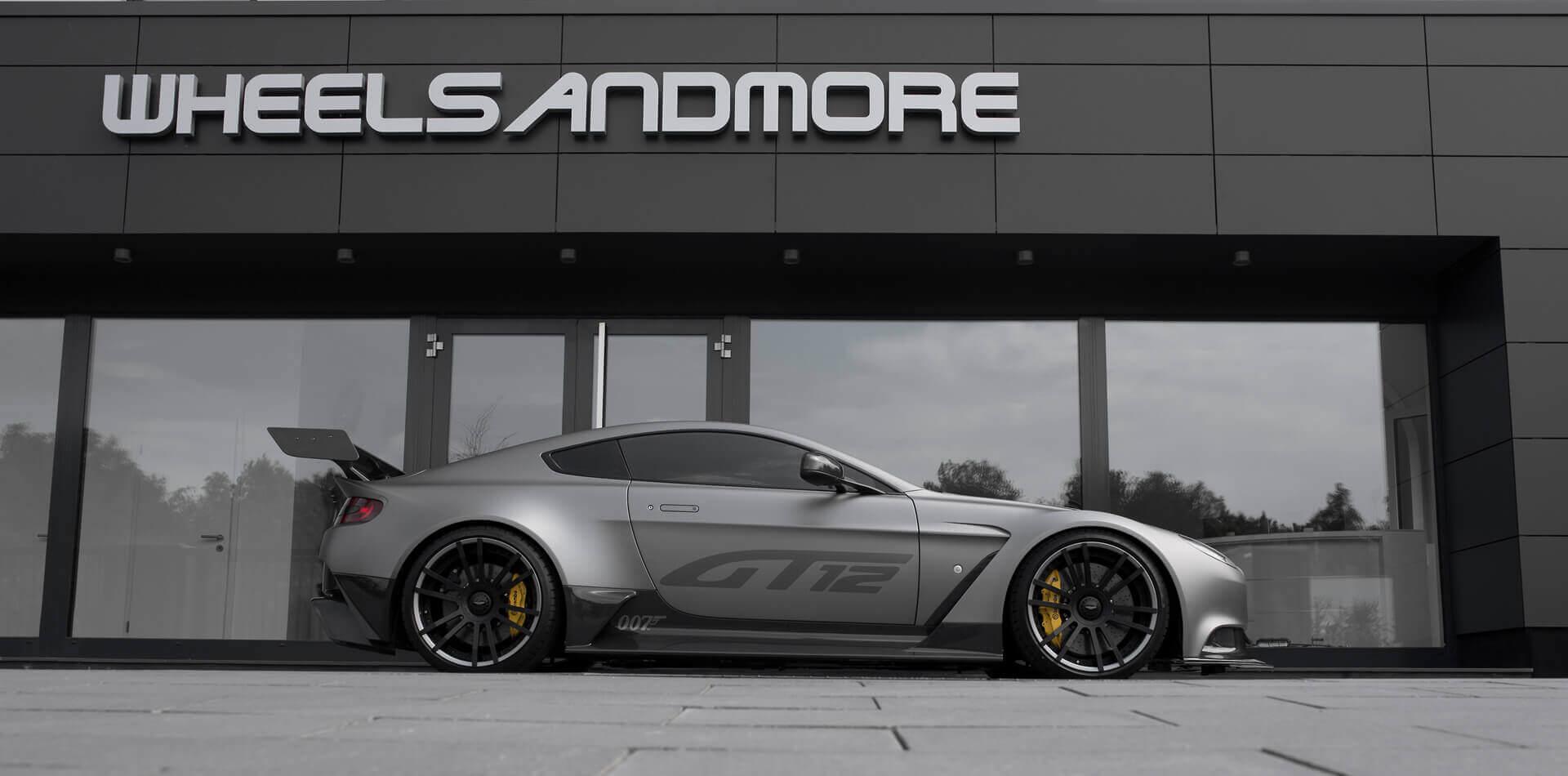 Aston Martin Vantage Felgen, Auspuffanlage, Leistungssteigerung