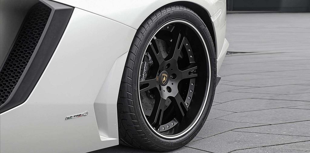 12,5×21 Zoll Hinterrad für Lamborghini Aventador mit 355/25/21