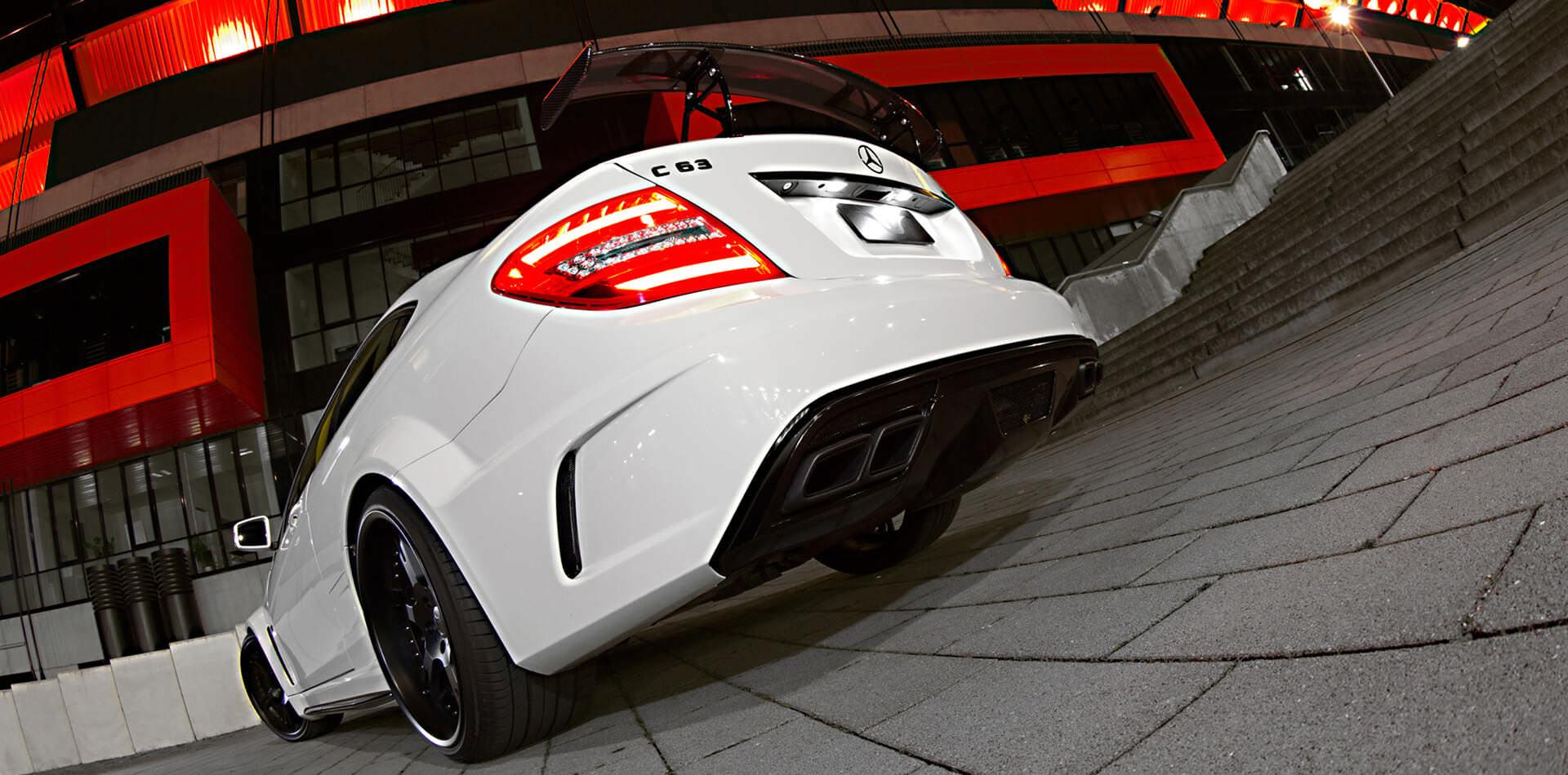 6Sporz² deep black edition für C63 AMG Black Series