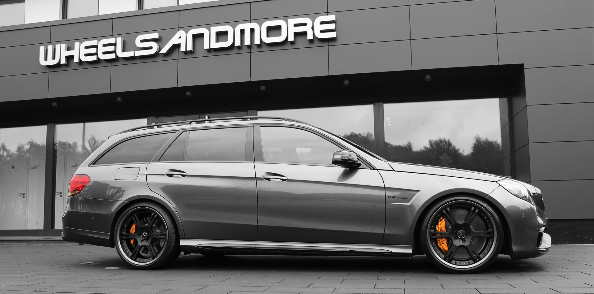 mercedes e63 amg w212 felgen tuning auspuff wheelsandmore. Black Bedroom Furniture Sets. Home Design Ideas