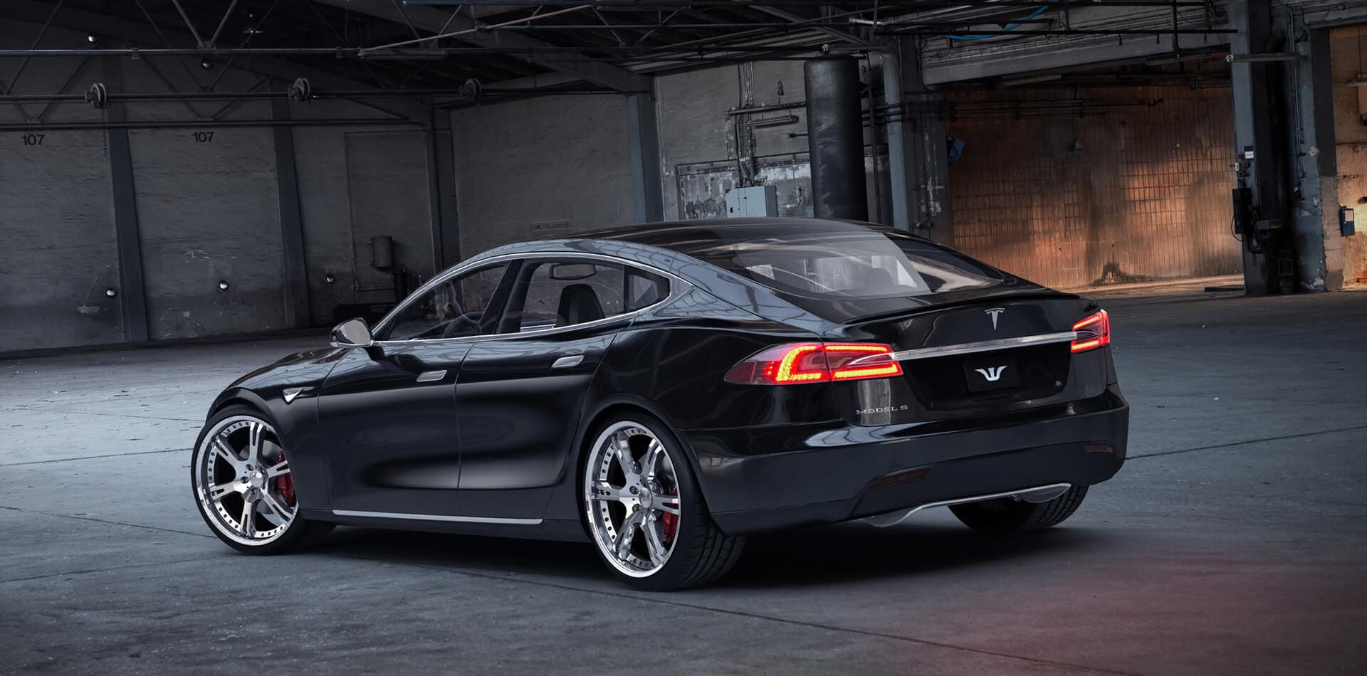 Tesla S Tuningkomponenten by Wheelsandmore – 100% handgefertigt in Deutschland