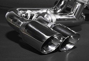 Ferrari 360 Auspuffanlage mit und ohne Klappensteuerung