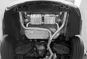 BMW 428i Auspuffanlage mit Klappensteuerung