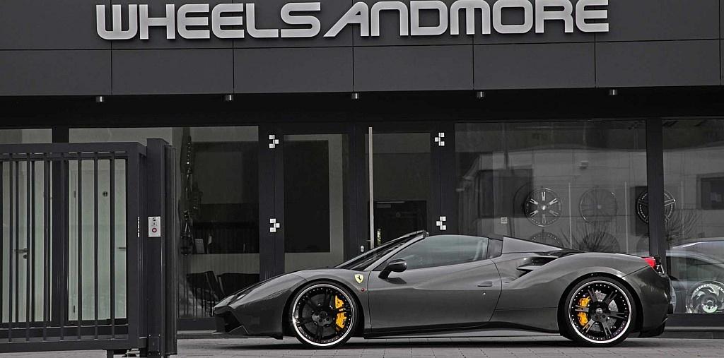 9,0+12,0×22 Zoll 6Sporz² Felgen für Ferrari 488 GTS