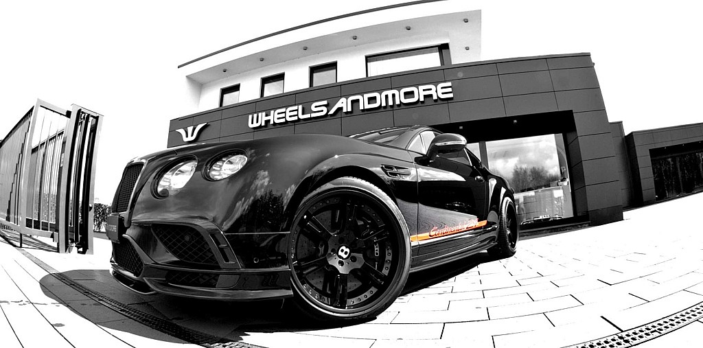 Exklusiver geht´s kaum: Bentley Continental 1 of 24 Tuning by W