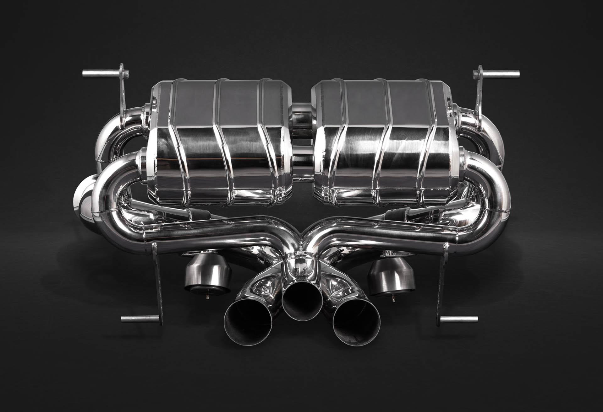 Lamborghini Aventador S Auspuffanlage mit Klappensteuerung