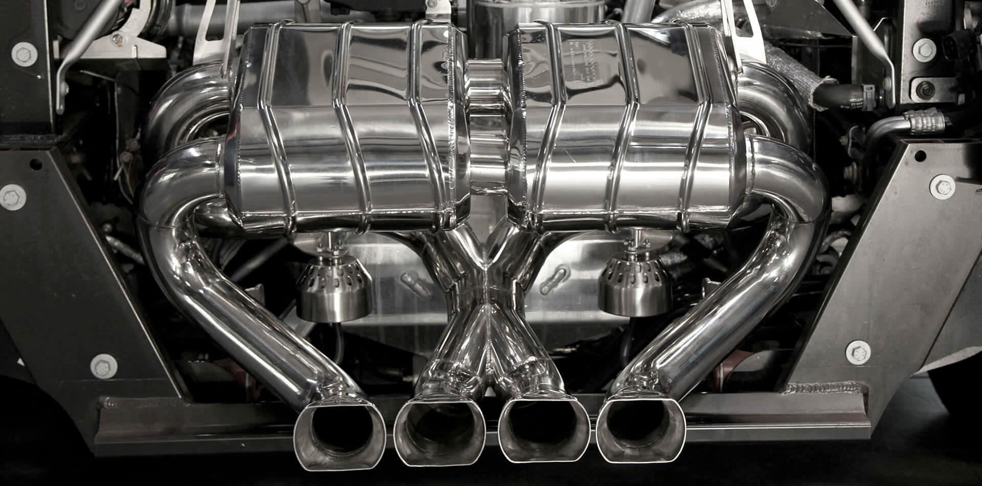 Lamborghini Aventador LP750-4 SV Auspuffanlage mit Klappensteuerung
