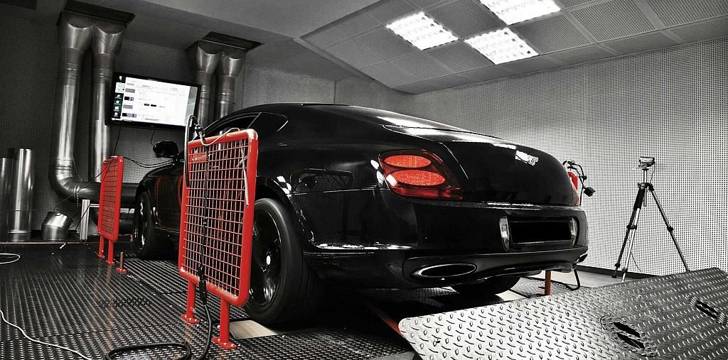 Leistungssteigerung für Bentley Continental perfekt auf neueste