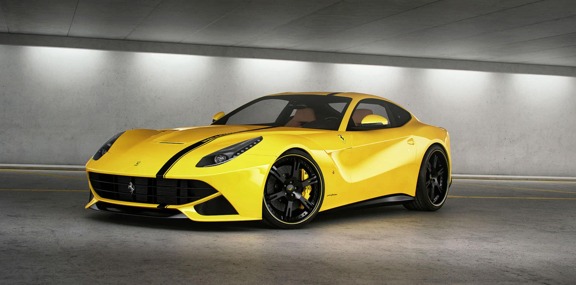 Ferrari F12 Tuning Felgen Auspuffanlage Wheelsandmore
