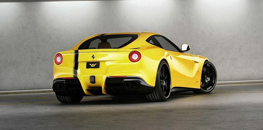 Leichte Schmiedefelgen für Ferrari F12 in 21 und 22 Zoll