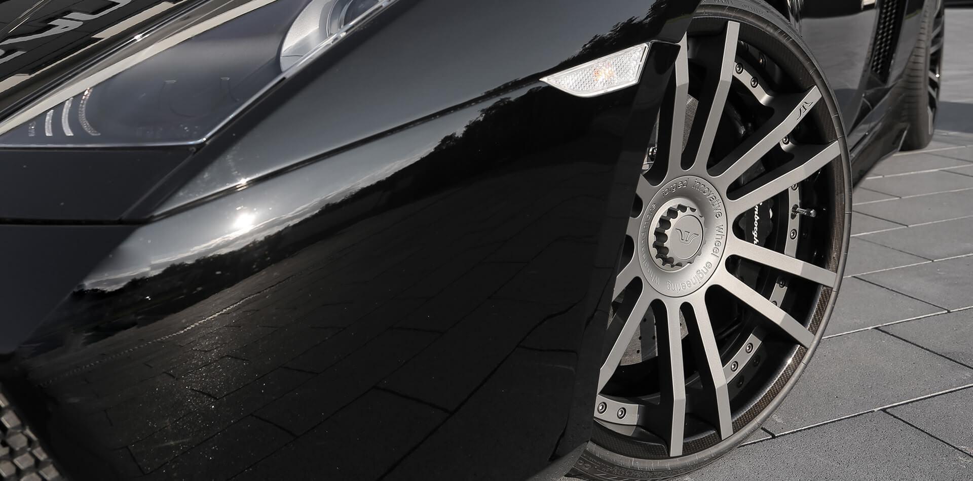 Carbon Look Felgendesign am Lamborghini Gallardo LP550-2 Valentino Balboni