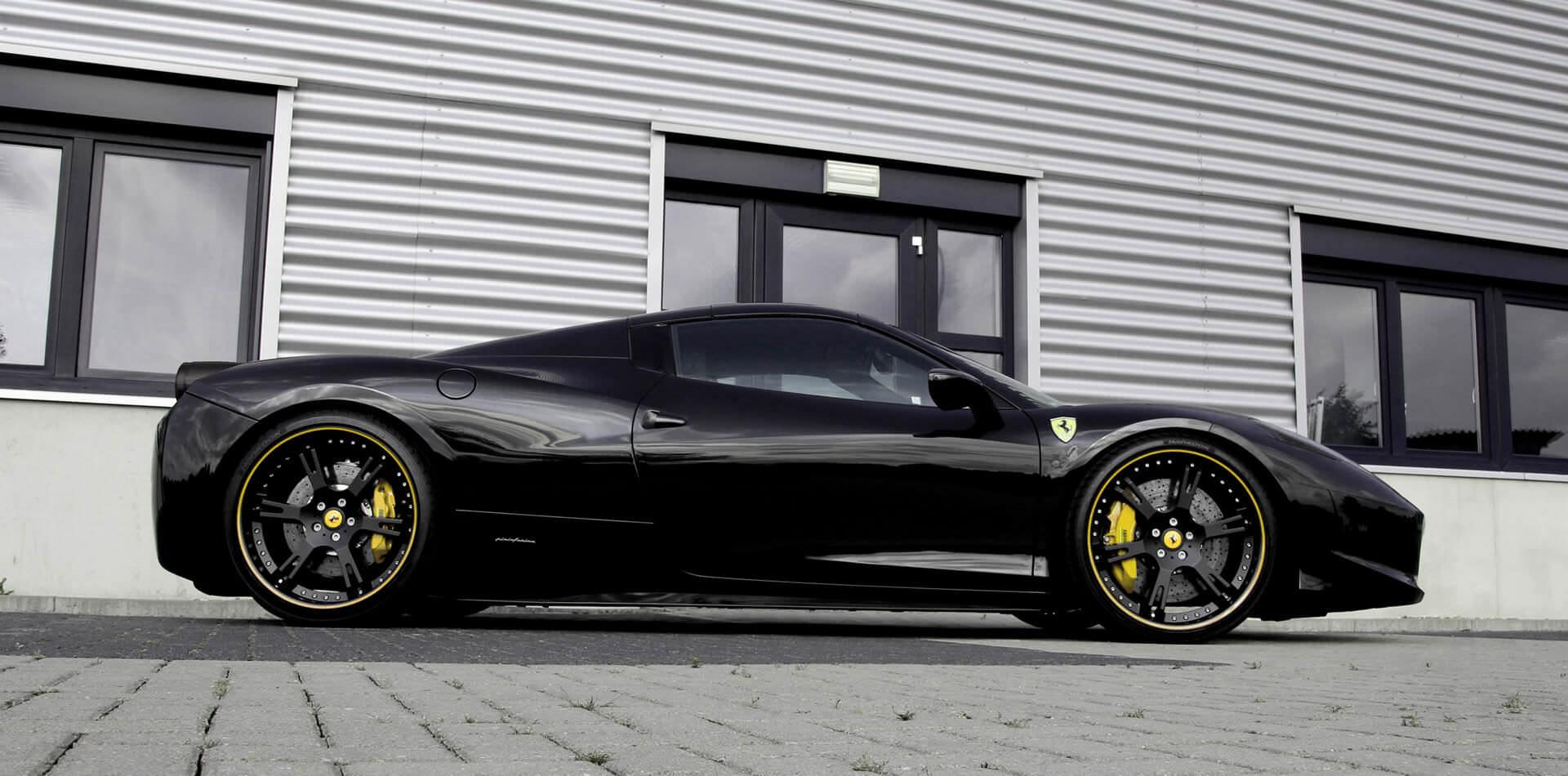 Ferrari 458 Italia Felgen, Auspuffanlage, Leistungssteigerung