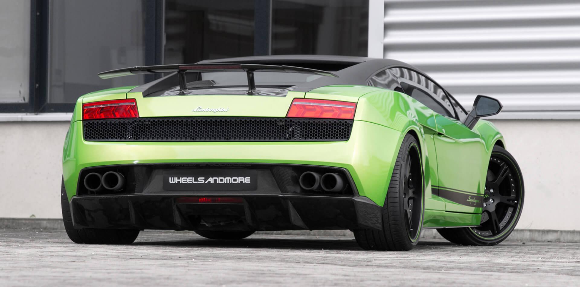 Klappenauspuffanlage mit TÜV-Zulassung für Lamborghini Gallardo Superleggera