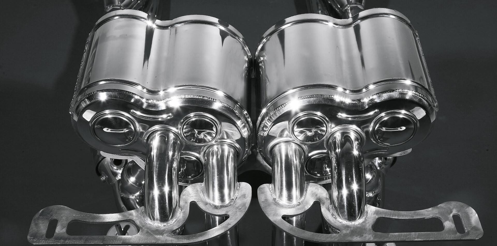 Lamborghini Murcielago LP 670-4 AUSPUFFANLAGE MIT FÄCHERKRÜMMERN