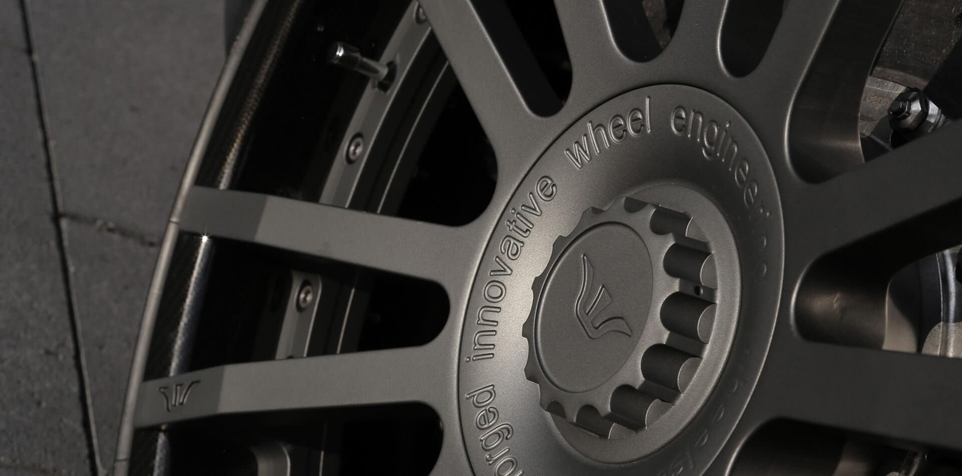 Perfektion im Detail, 3-teiliges Exklusivrad F.I.W.E. für Lamborghini Gallardo