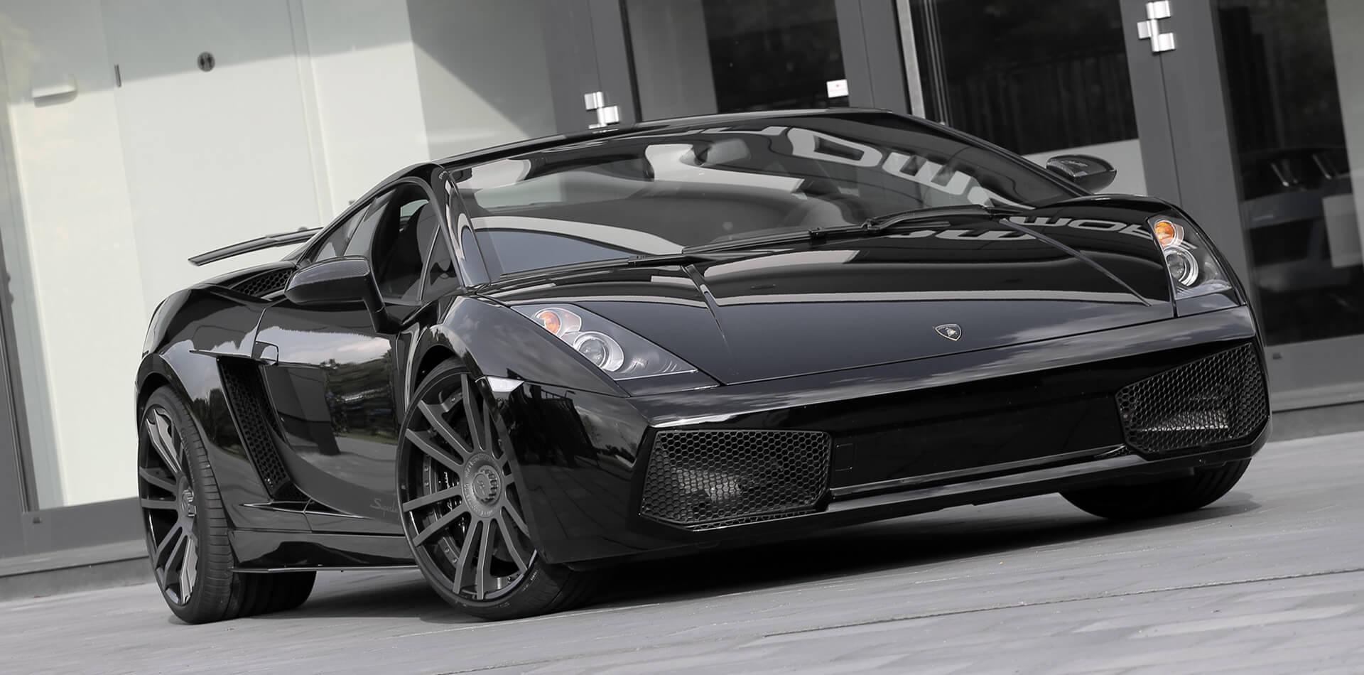 Lamborghini Gallardo Tuning, Felgen, Auspuffanlage