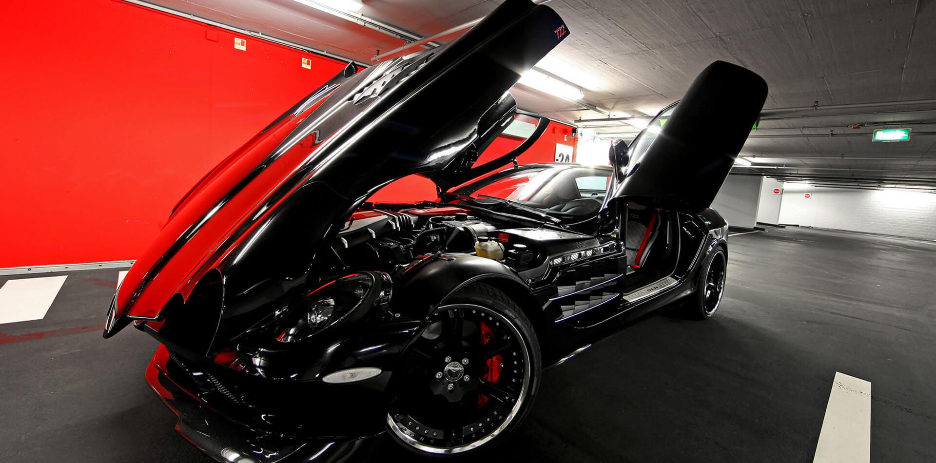 9,5+11,5×20 Zoll Felgen für Mc Laren Mercedes SLR 722