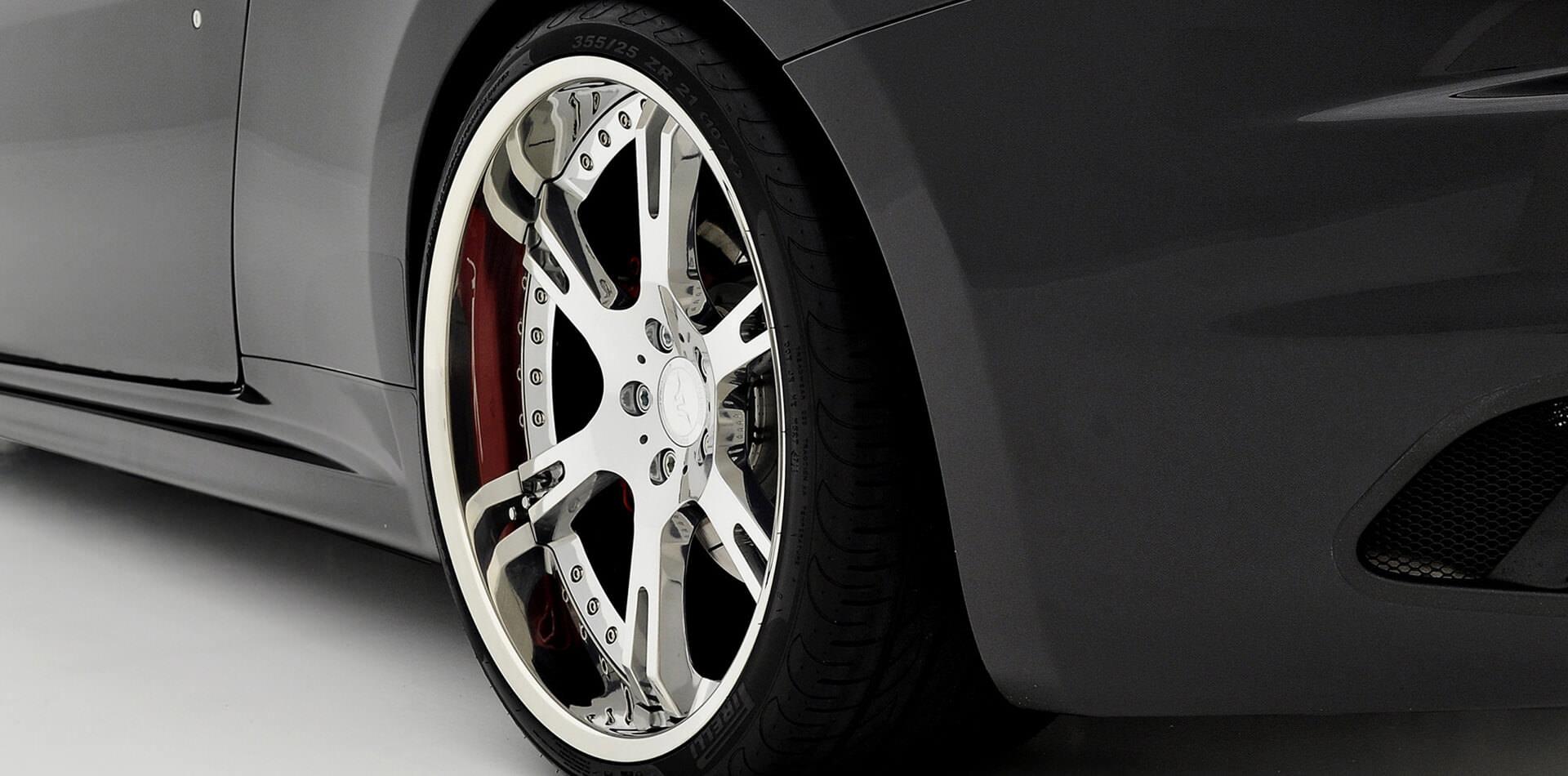 Ultraleichte Schmiedefelgen für alle Maserati, erhältlich in 20 und 21 Zoll