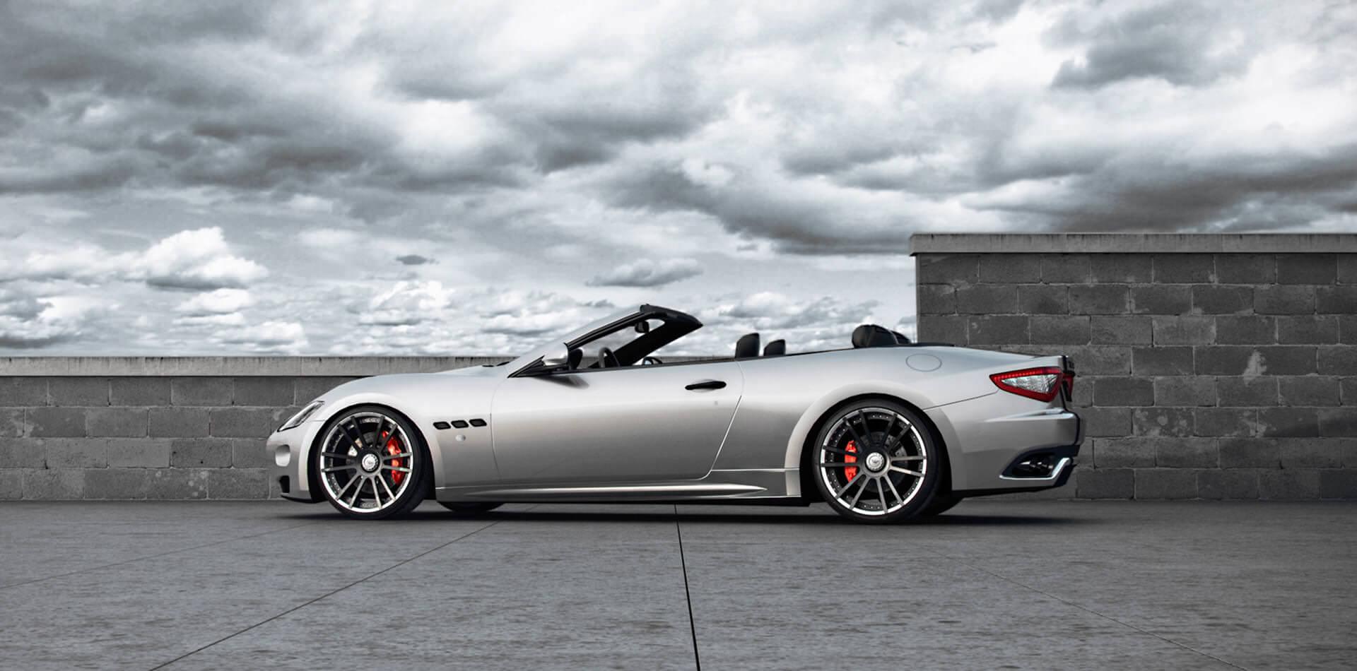 Ultraleichte F.I.W.E. Schmiedefelgen in 21 Zoll für alle Maserati