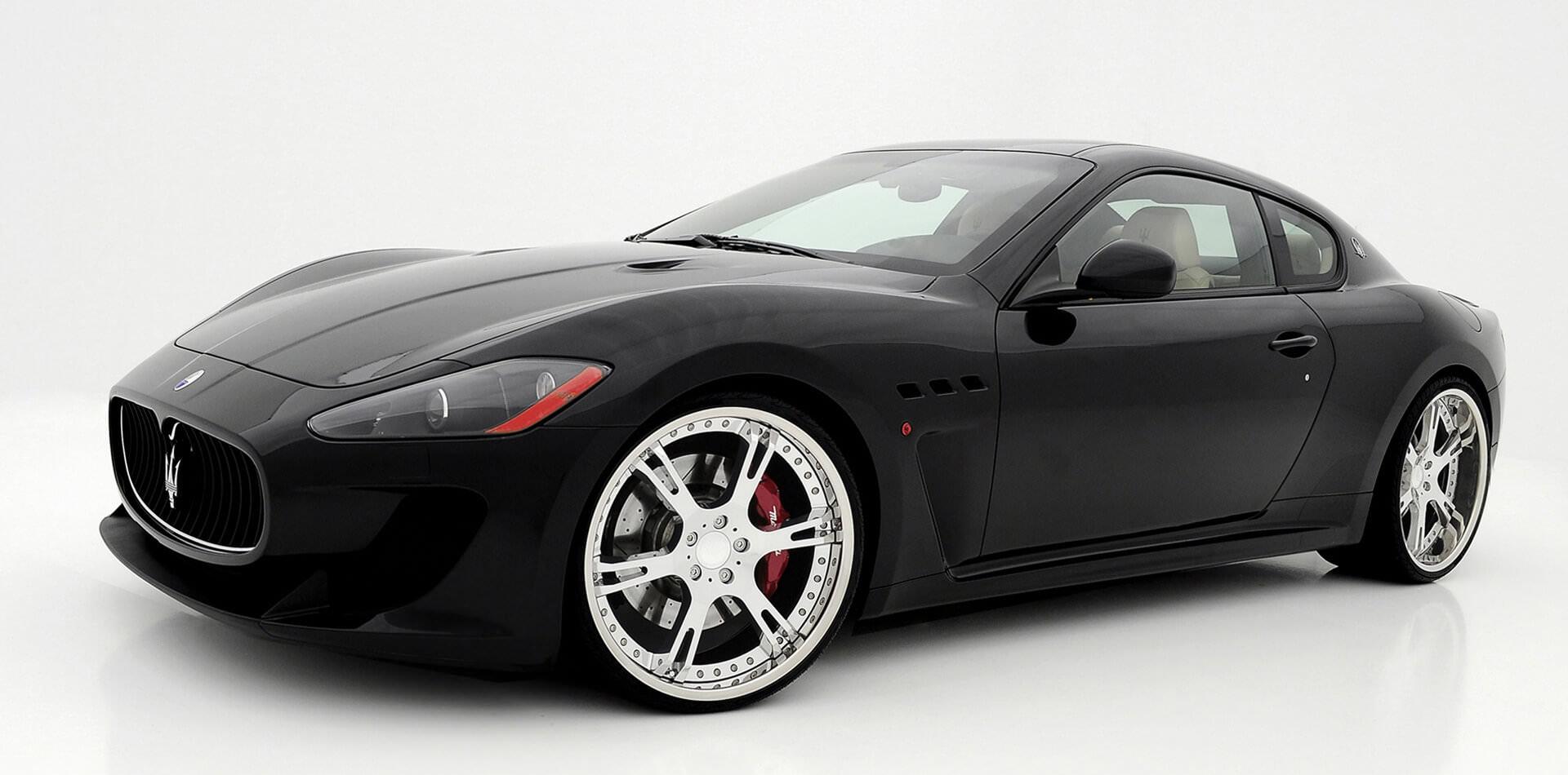 Maserati Gran Turismo Tuning, Felgen, Auspuffanlage