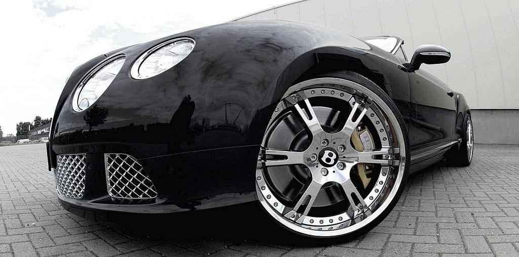 22 Zoll 6Sporz² Felgen und Tieferlegungsmodul für Bentley Cont