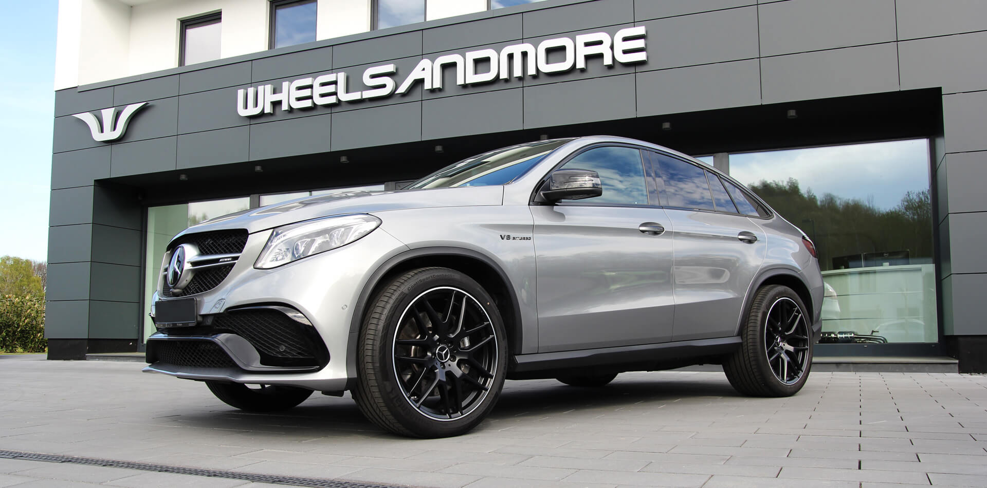 Mercedes GLE63 AMG Tuningprogramm by Wheelsandmore