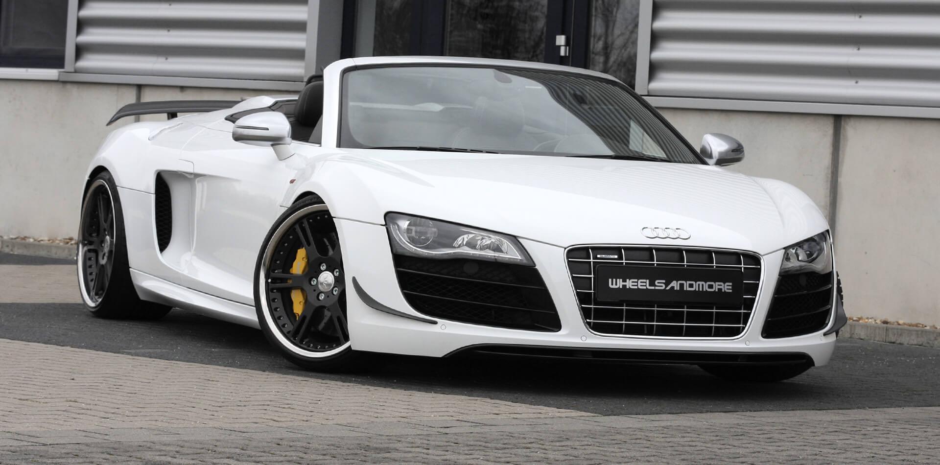 Audi R8 GT Tuning, Felgen, Auspuff