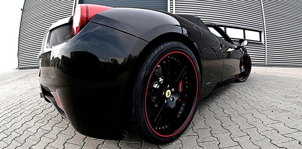 Ferrari 458 Italia Spyder mit geschmiedeten, 3-teiligen Felgen 6