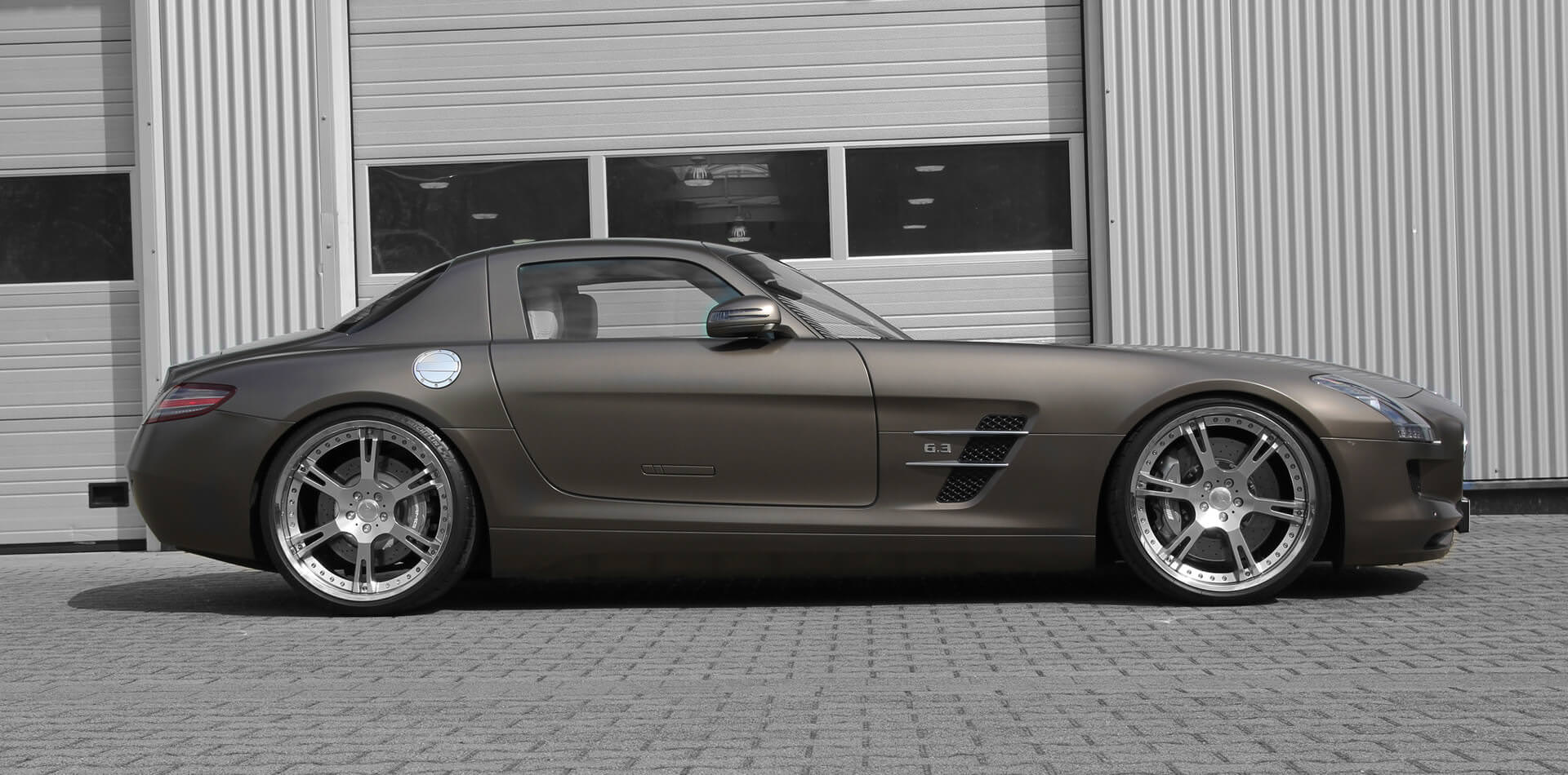 Mercedes SLS AMG Tuning made by Wheelsandmore