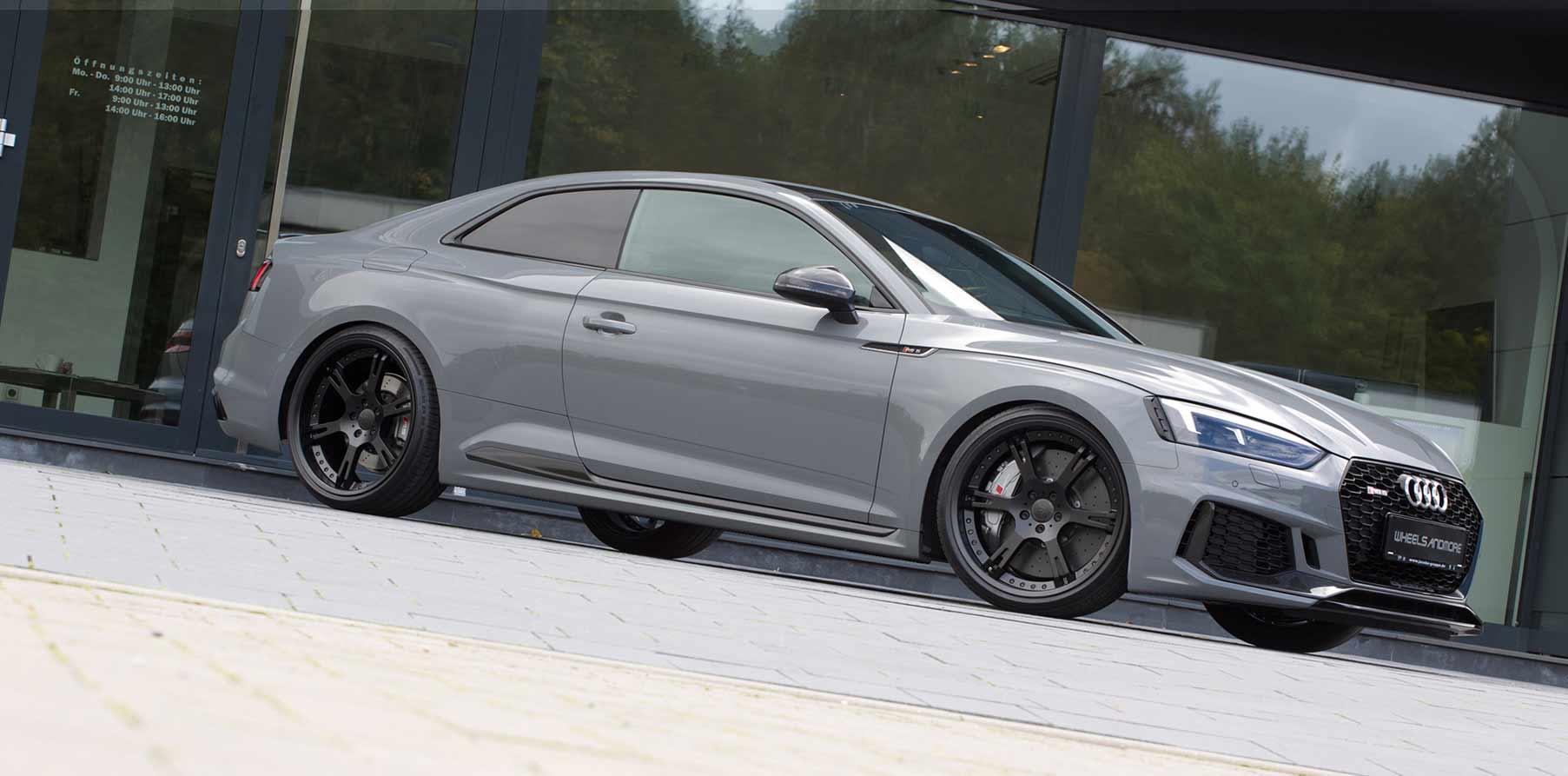 Leistungssteigerung auf bis zu 550 PS für Audi RS5 by Wheelsandmore