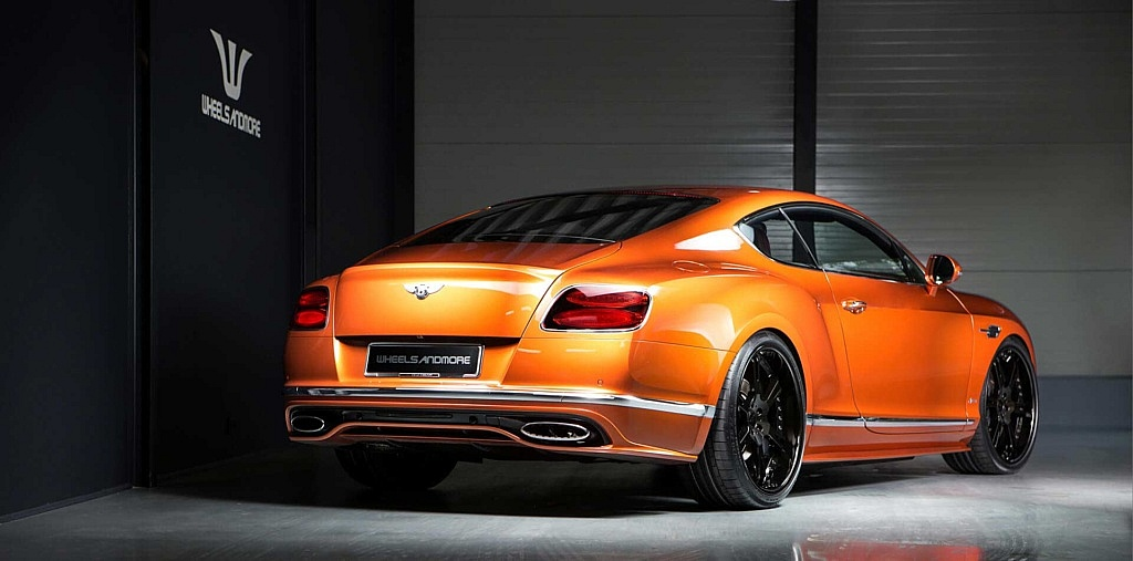 Bentley Continental GT Speed Xtrasports by Whelsandmore