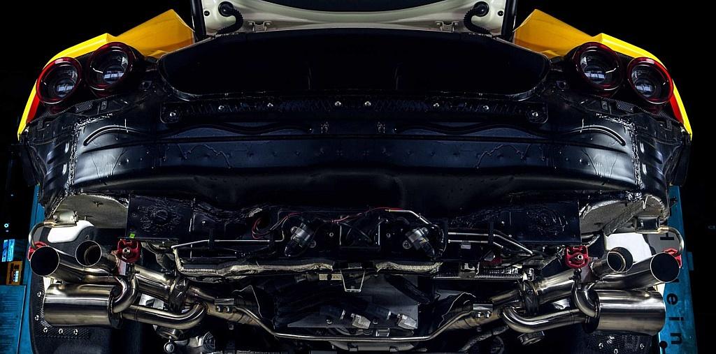 OVERSIZE AUSPUFFANLAGE für Ferrari GTC 4 Lusso