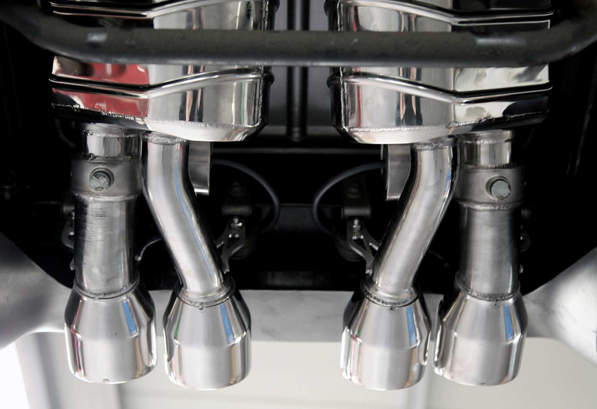 Corvette C06 Z06 Auspuffanlage mit Klappensteuerung