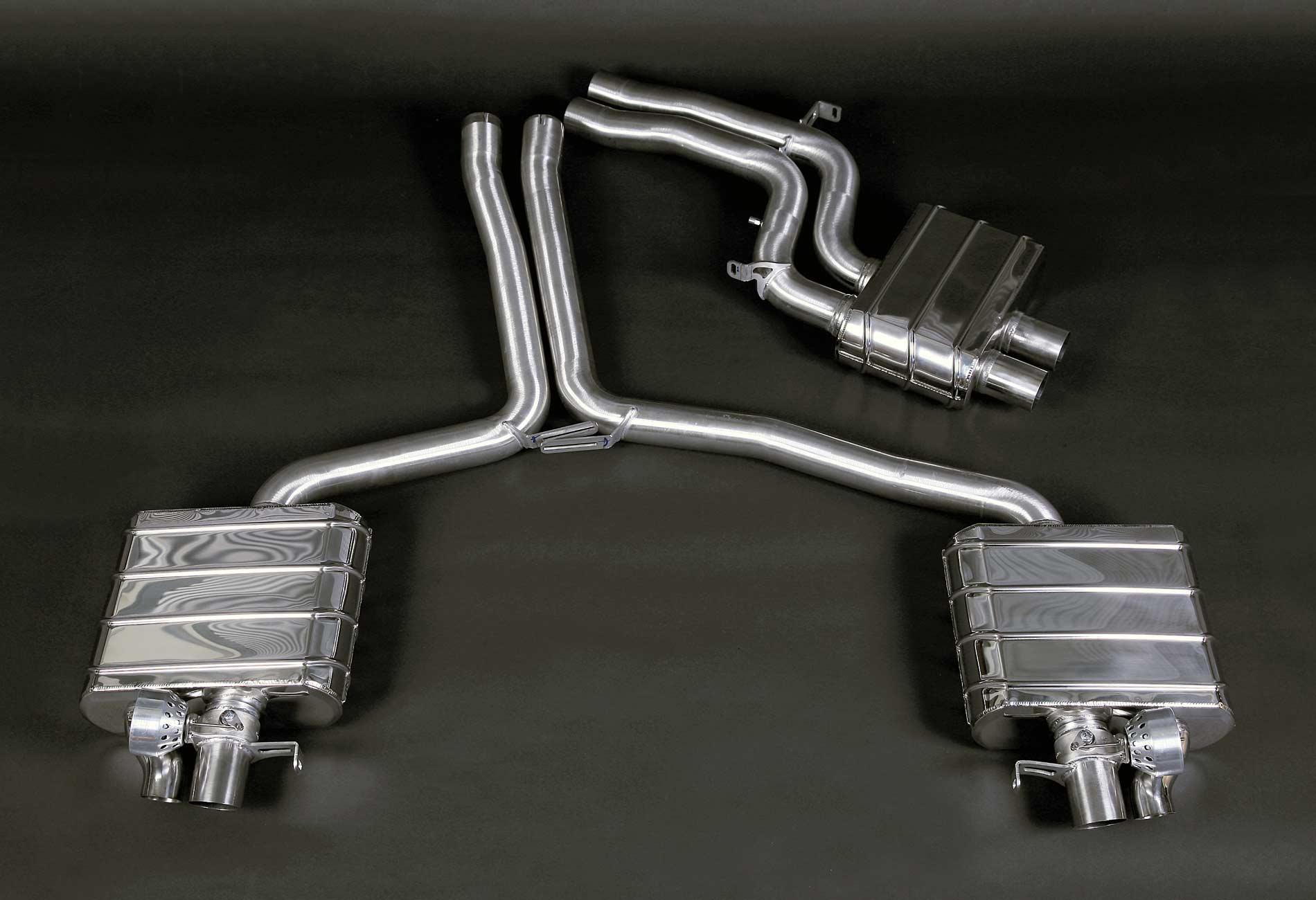 AUDI RS4 / RS5 (B8) Auspuffanlage mit Klappensteuerung
