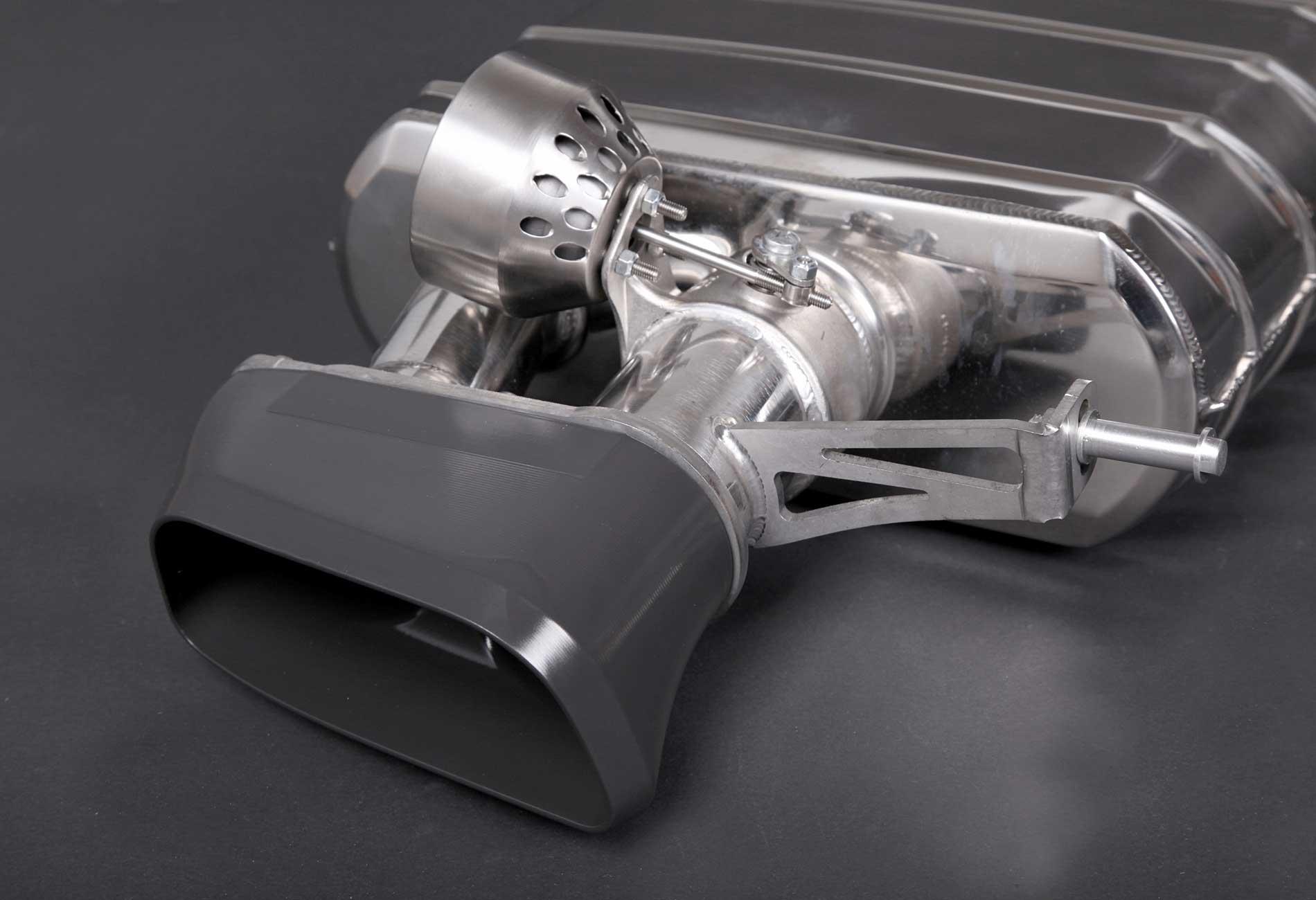 BMW 650i Auspuffanlage mit Klappensteuerung
