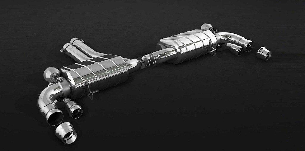 Handgefertigte Auspuffanlage für Bentley Bentayga