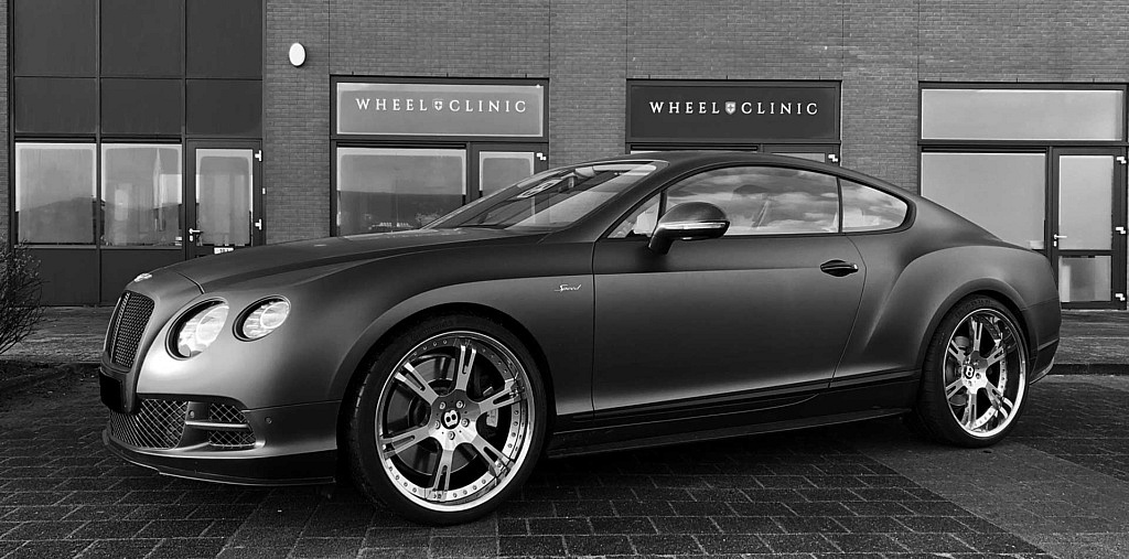 Hochglänzende 6Sporz² Felgen am Bentley Continental GT Speed 2