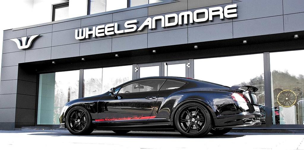 Bentley Continental Supersports 24 mit Leistungssteigerung auf 8
