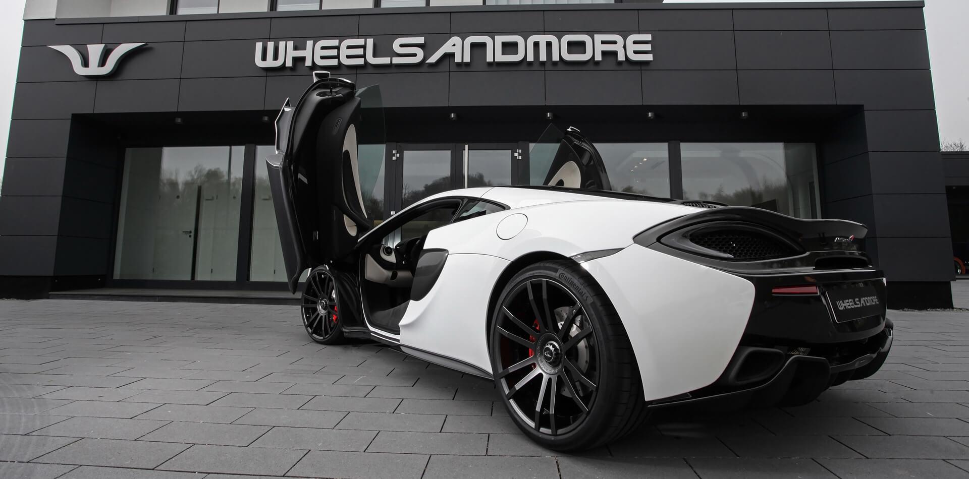 Fahrzeugveredlung auf höchstem Niveau – Wheelsandmore McLaren 570GT Hornesse