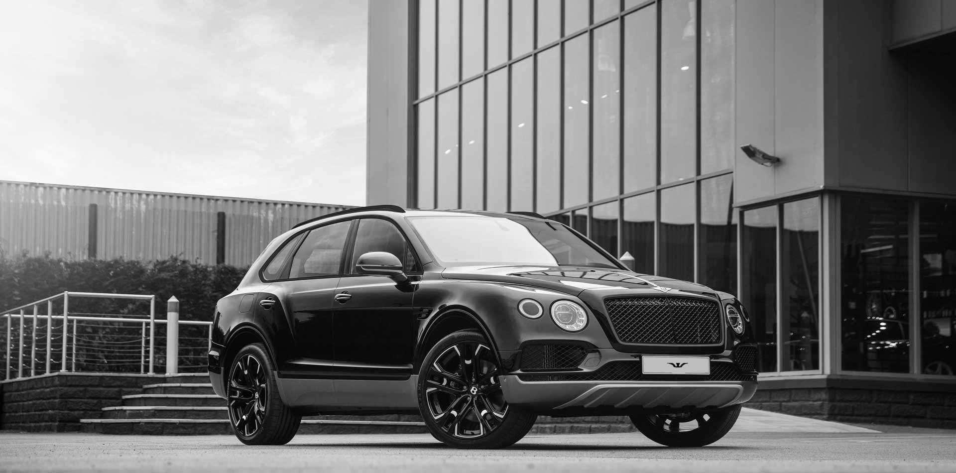 Bentley Bentayga mit 10×23 Zoll LeMans Felgen