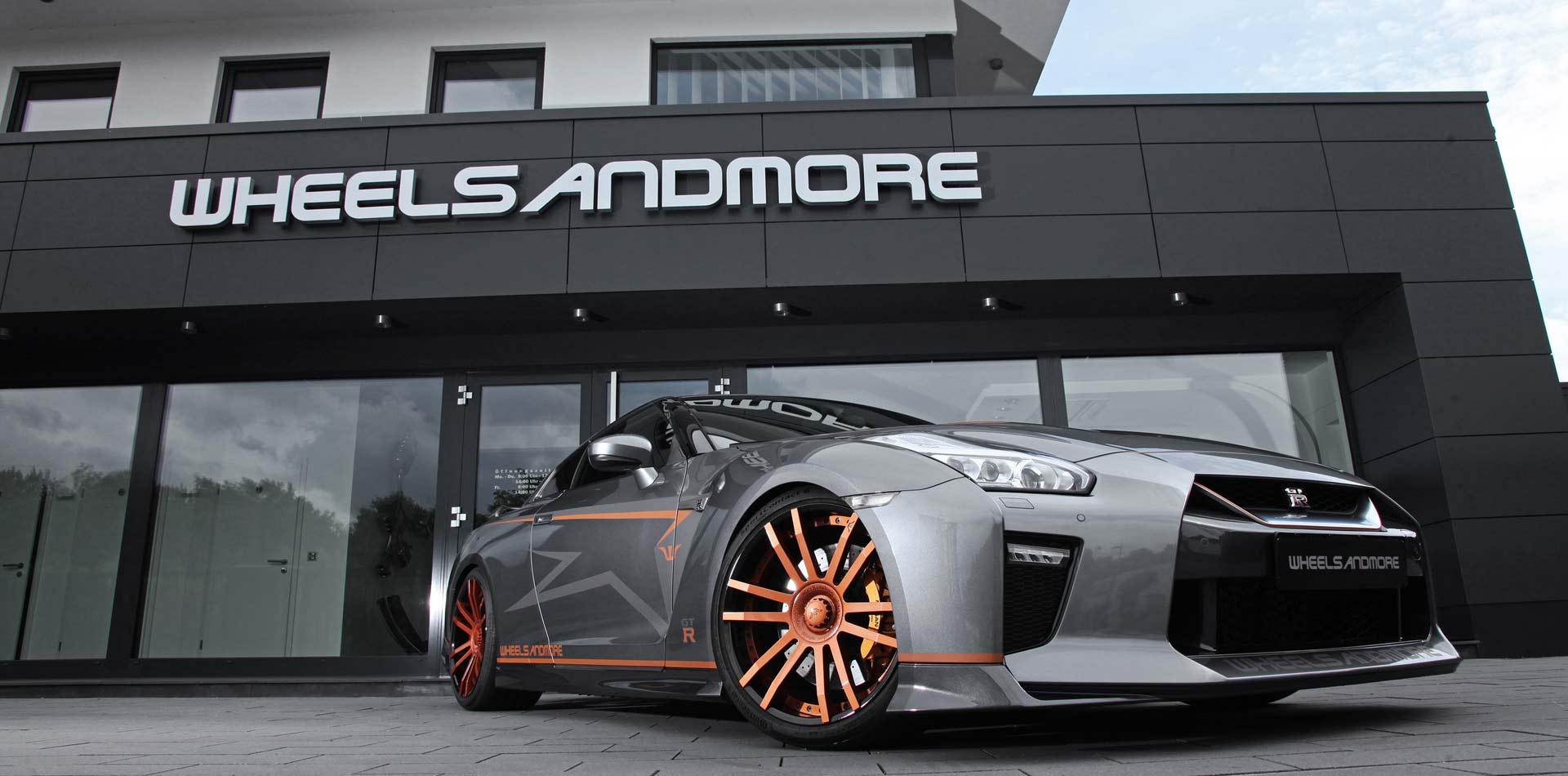 Das Wheelsandmore Nissan GT-R Tuning Programm