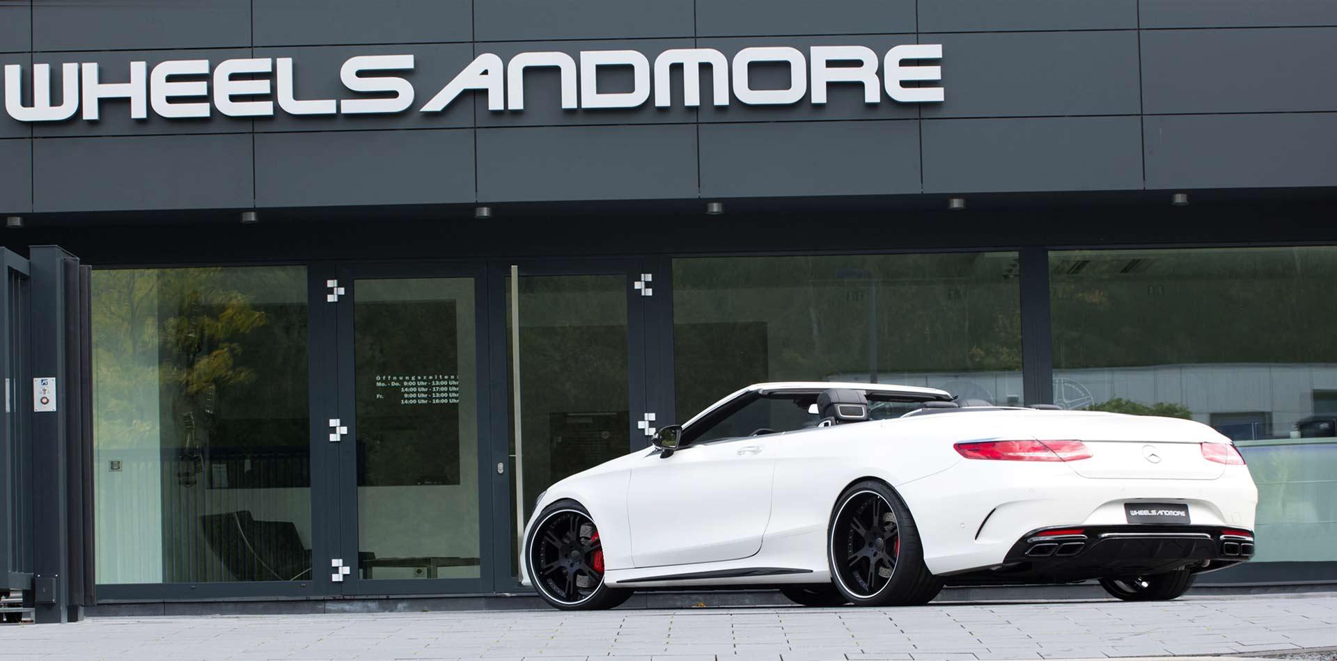 S63 AMG Felgen, Auspuffanlage, Leistungssteigerung