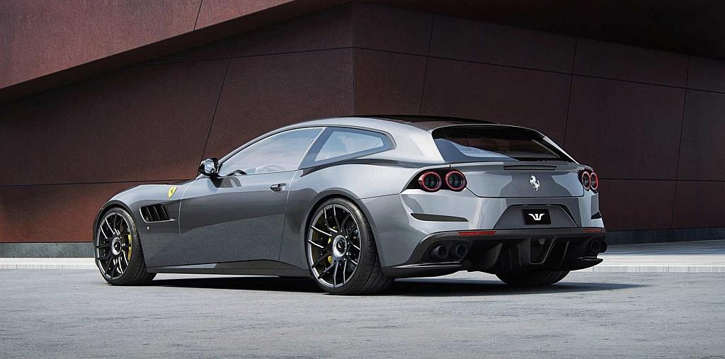 Ferrari GTC4 Lusso Tuning by Wheelsandmore