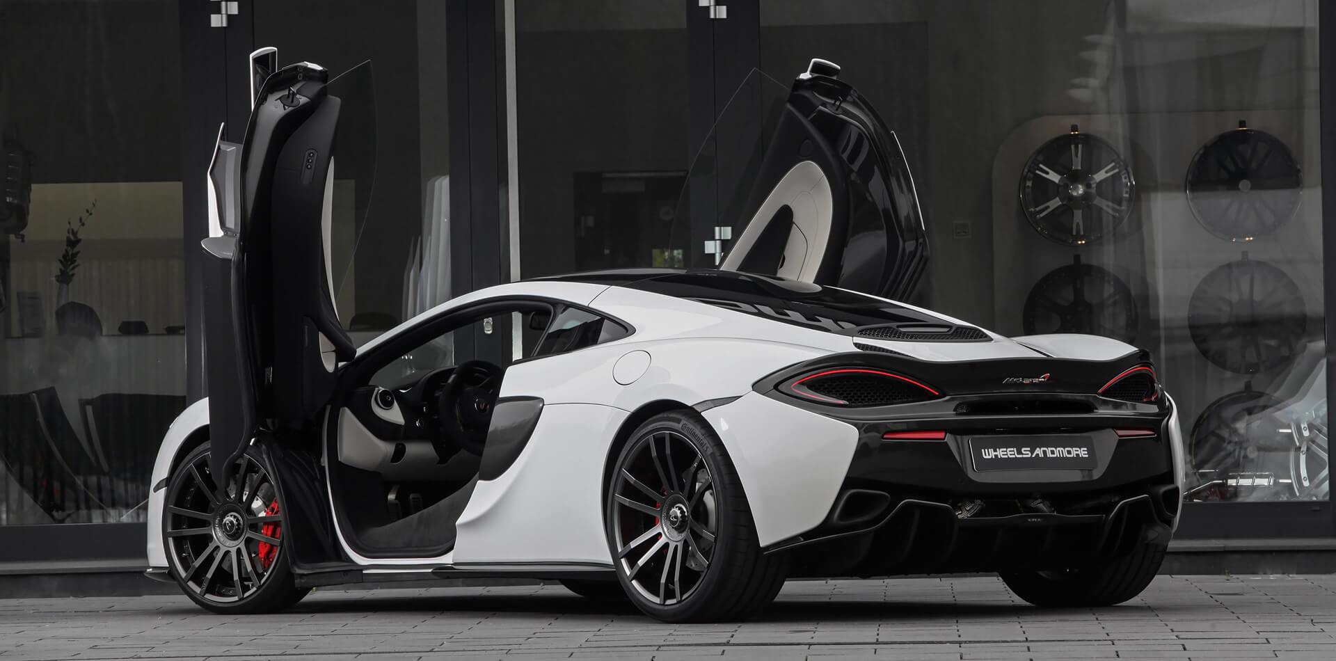 Auspuffanlage für McLaren 570 GT optional mit Klappensteuerung erhältlich