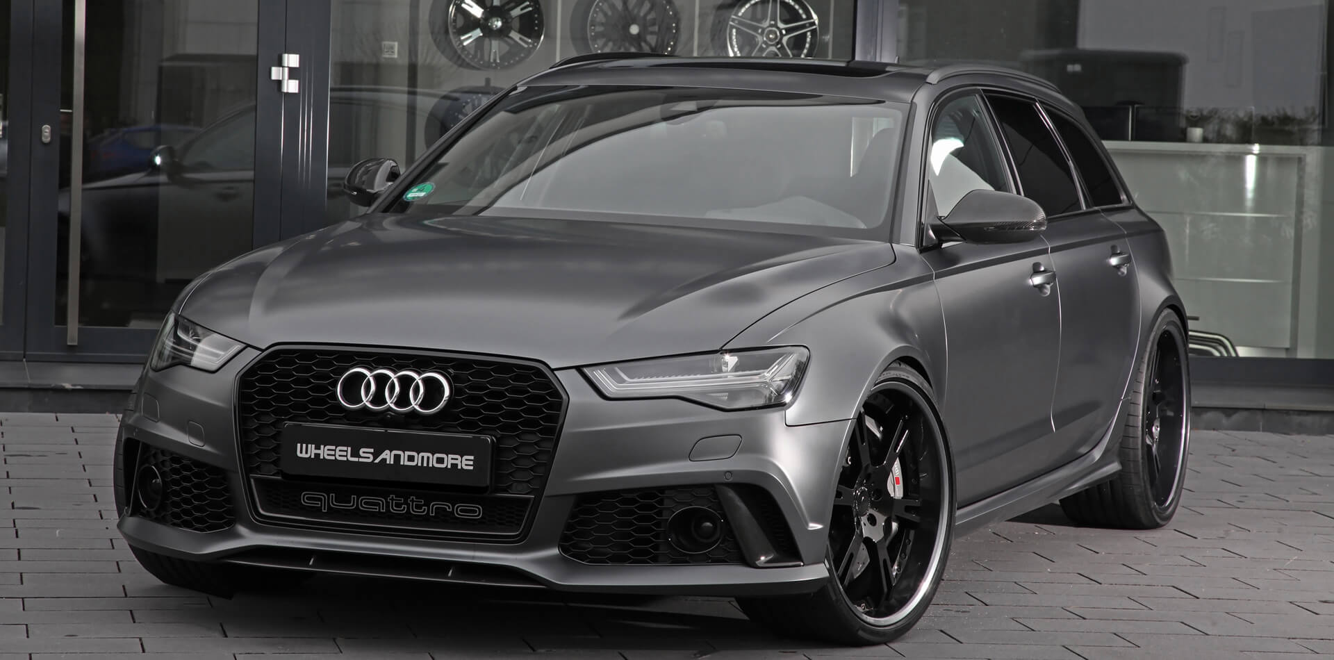 Audi RS6 Tuning by Wheelsandmore Germany