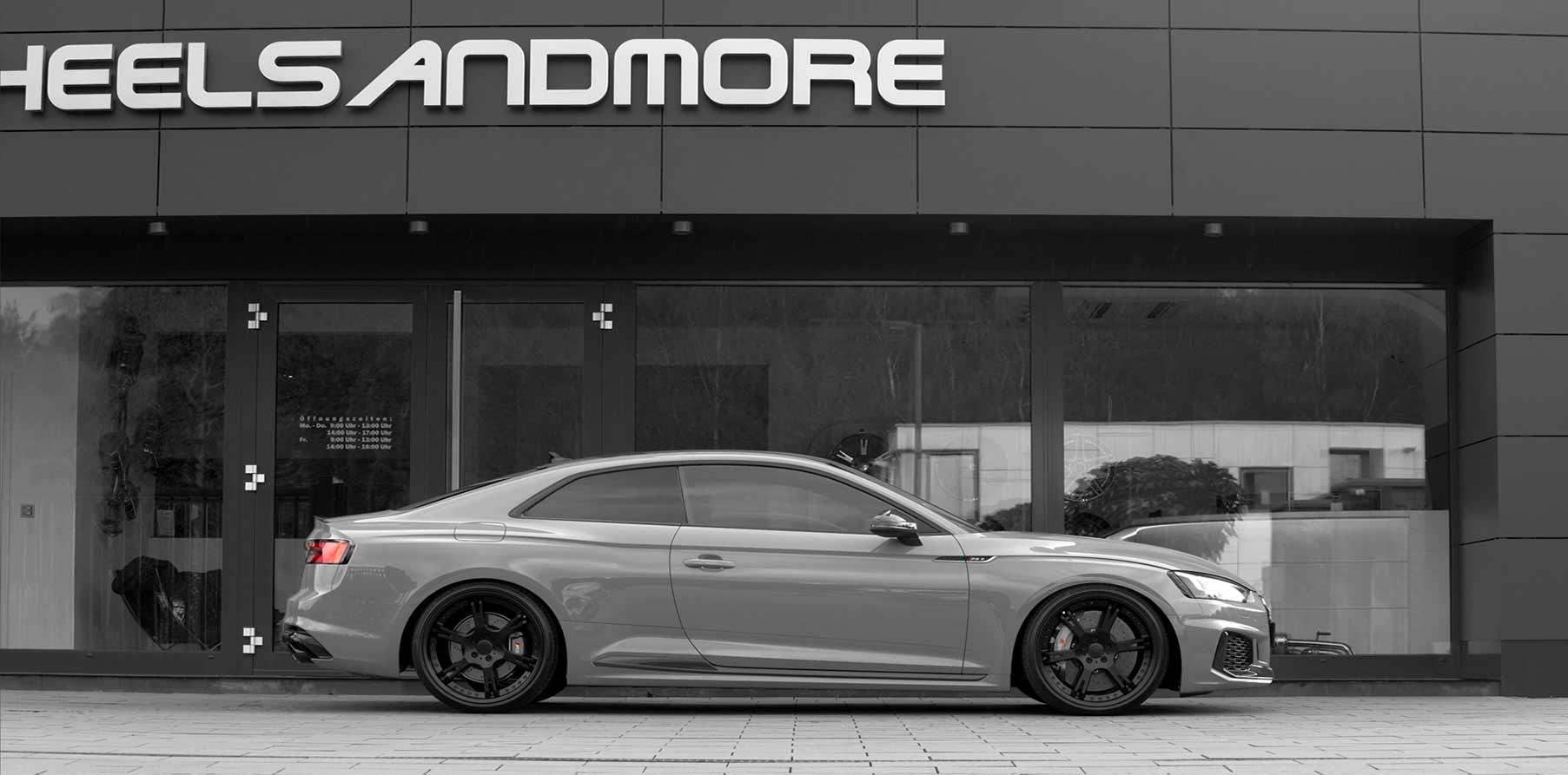 Tieferlegung für Audi RS5 mit Gewindefedern oder Gewindefahrwerk