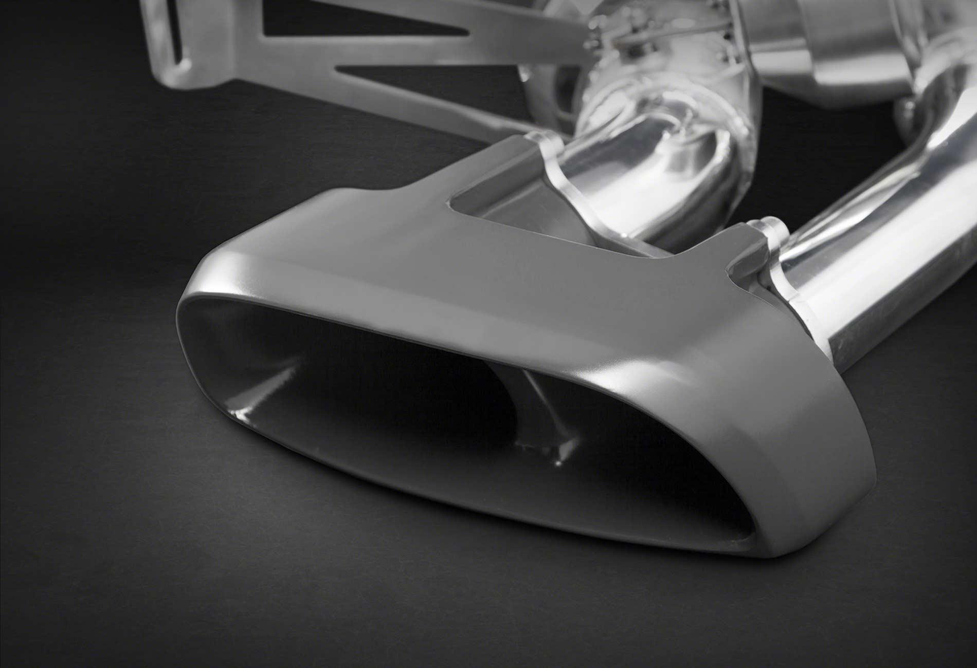 Porsche MACAN Auspuffanlage mit Klappensteuerung