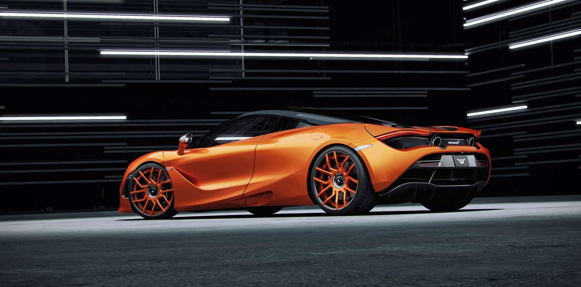 McLaren 720S Tuning, Felgen, Auspuffanlage