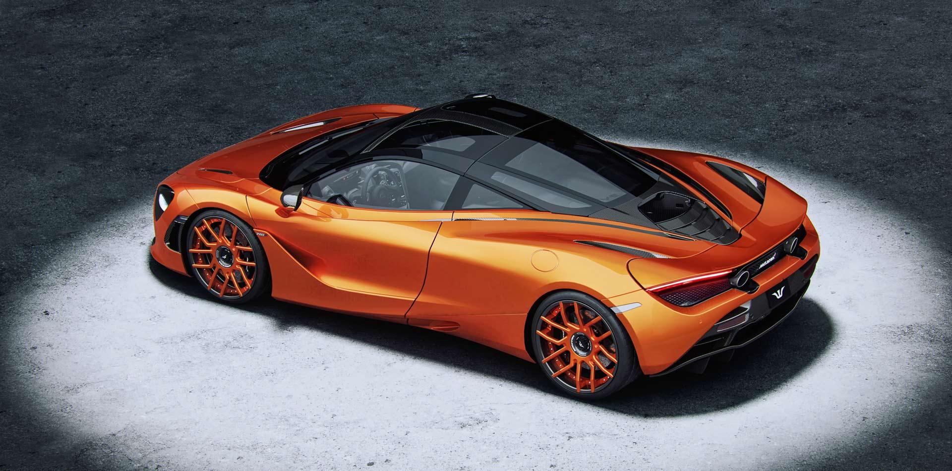 McLaren Tuning by Wheelsandmore mit 20 und 21 Zoll Schmiedefelge