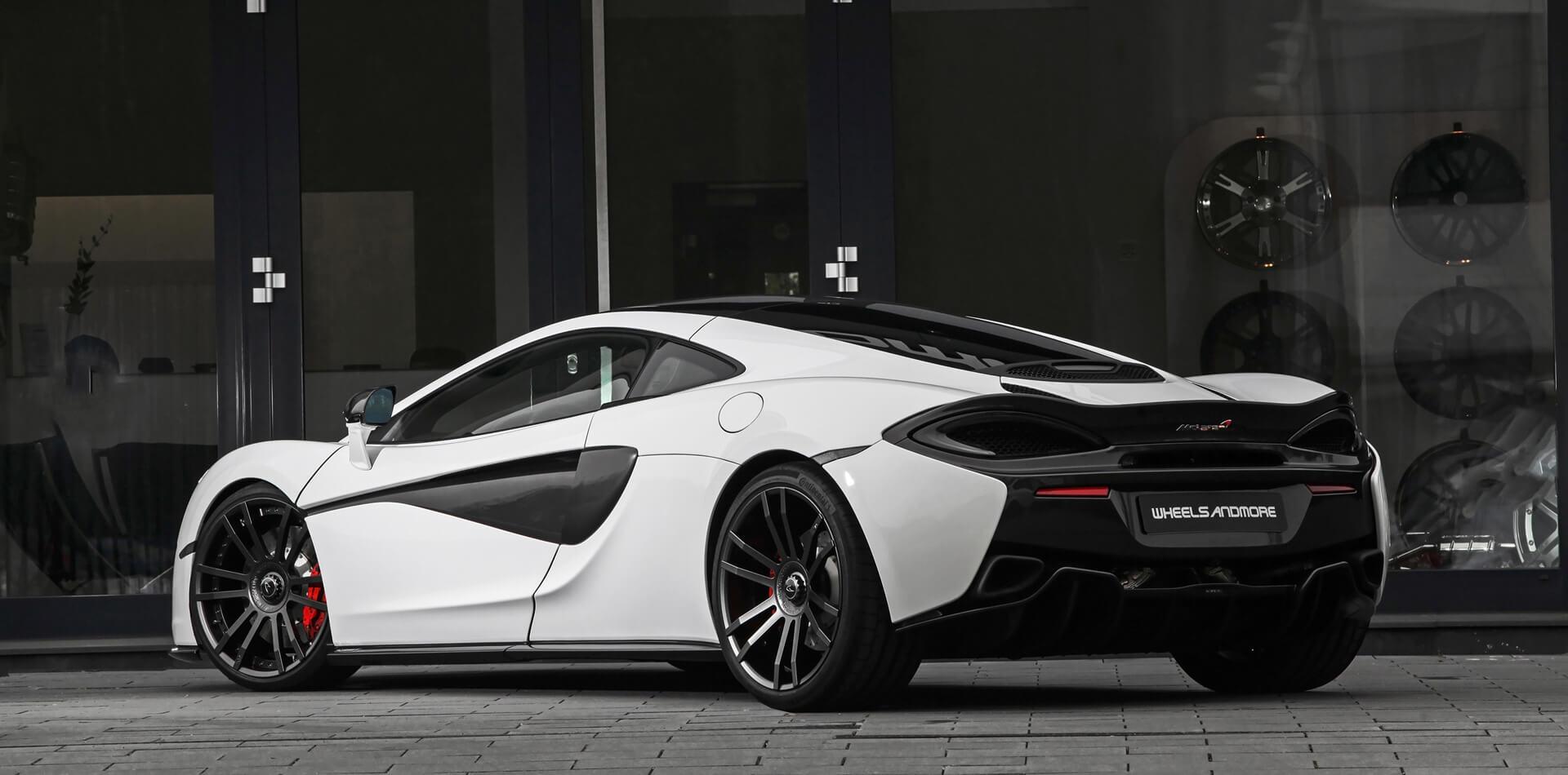 McLaren 570GT mit Gewindefedern, Schmiedefelgen und Leistungssteigerung